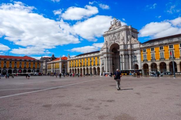 Praca do Comercio square Lisbon