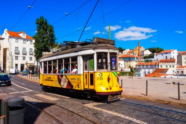 Lisbon Tram 28 historic sightseeing