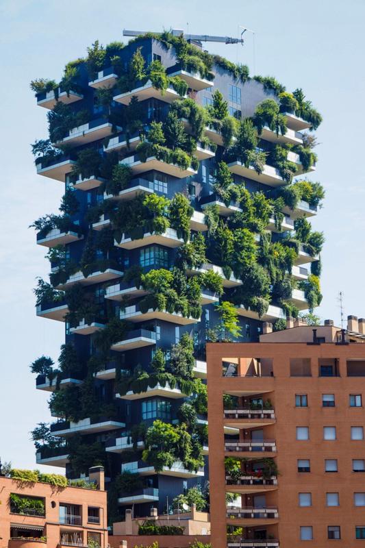 Milan bosco verticale building