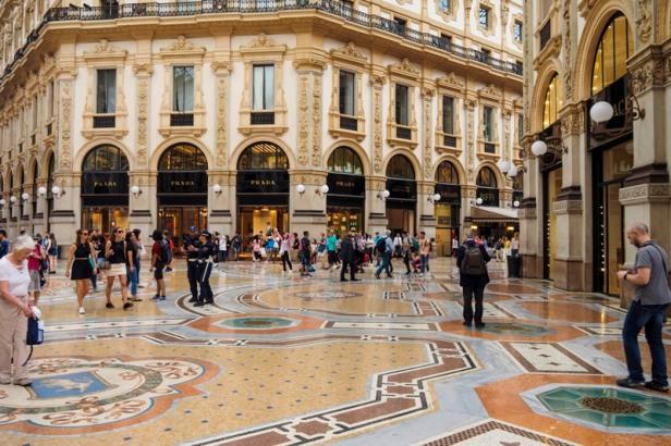 Galleria Vittorio Emanuele shops
