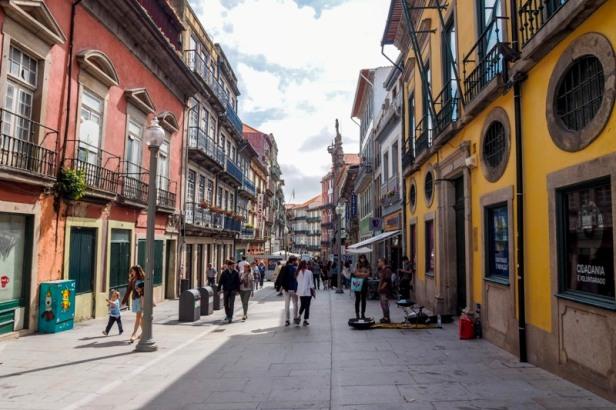 Porto street view