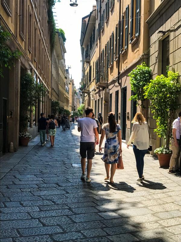 Milan Via della Spiega