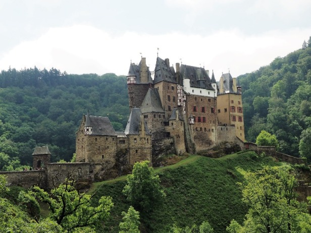 a view of Burg Eltz in Germany