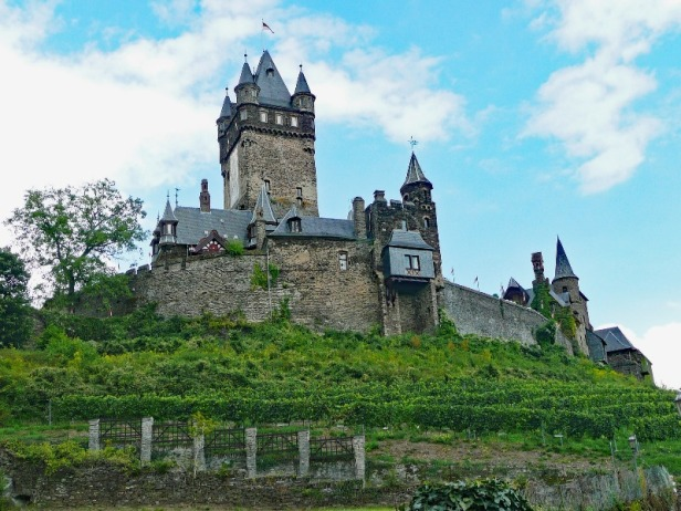a view of Burg Reichsburg in Germany
