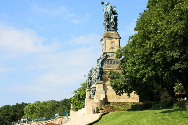 a view of Niederwald monument