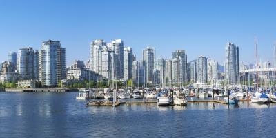 Vancouver harbour skyline