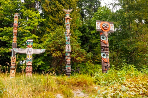 Stanley Park Vancouver totems