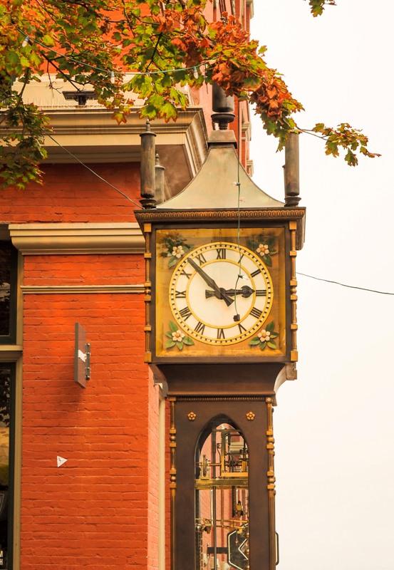 Steam Clock Vancouver Gastown