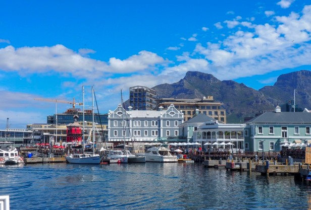 a view at V+A Waterfront in Cape Town