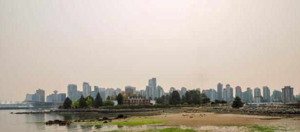 Vancouver panorama view