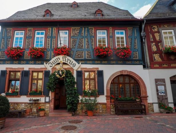 Winehaus Zum Krug in Hatteneheim