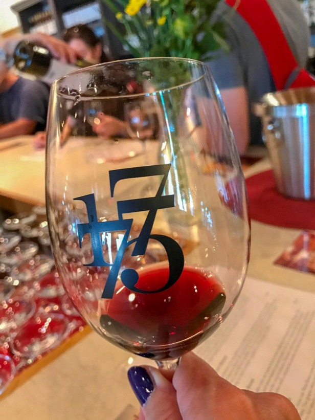 wine tasting at Bench 1775 Winery