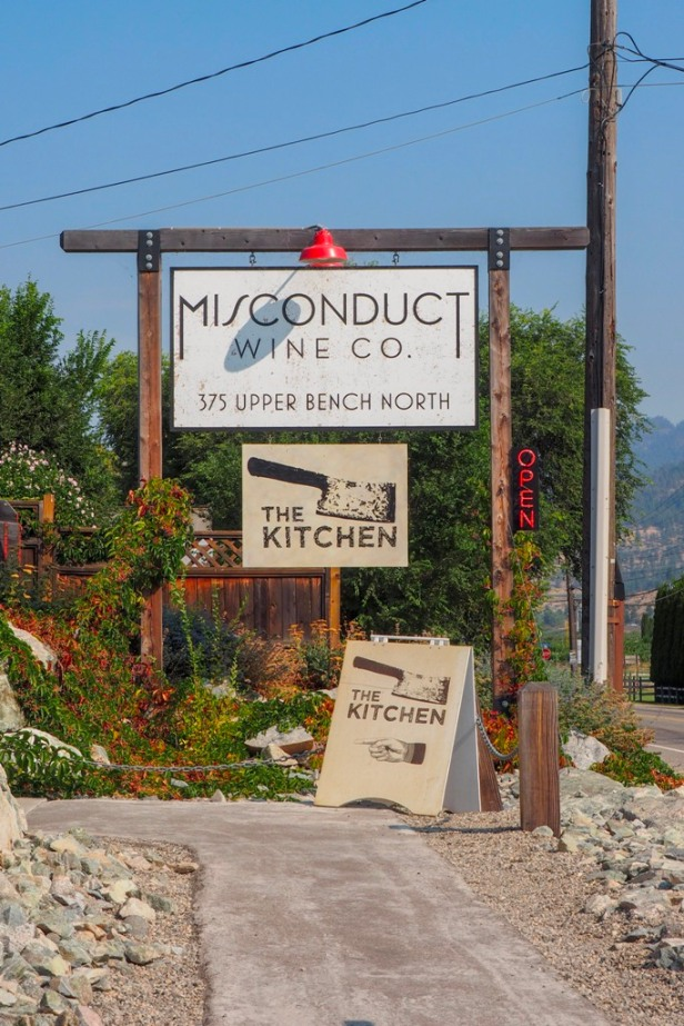 Misconduct Wine Co Lake Okanagen