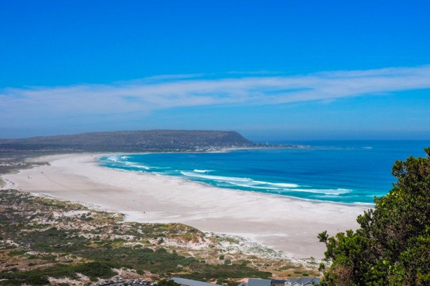 a view at Noordhoek Beach, Cape Town, South Africa