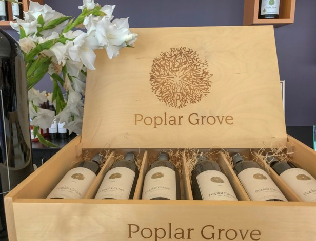 Poplar Grove Winery Lake Okanagan