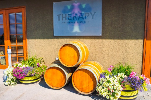 Therapy Vineyards Lake Okanagan