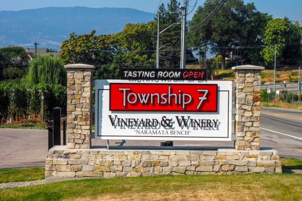 Township 7 Winery Lake Okanagan