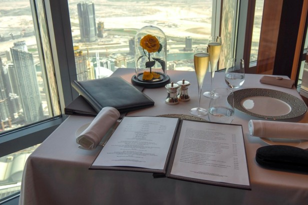 At.mosphere Restaurant Burj Khalifa Dubai