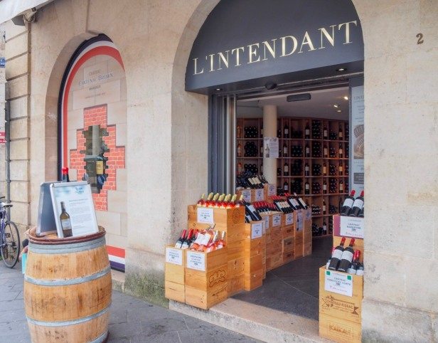 L'Intendant wine shop, Bordeaux