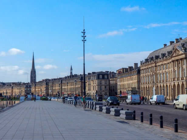 Bordeaux, view of Fleche St-Michel