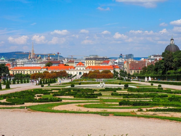 Lower Belvedere, Vienna