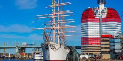 Baken Viking Ship, Lilla Bommen, Gothenburg