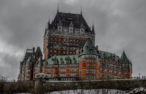 Quebec Chateaux Frontenac
