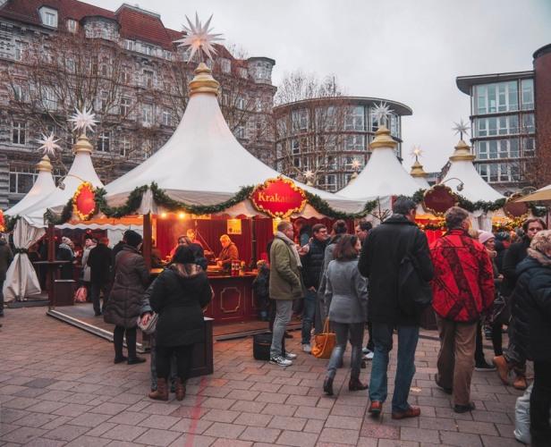 Hamburg Fleet Weihnachtsmarkt