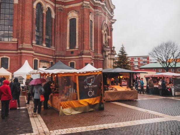 Hamburg Weihnachtsmarkt am Michel