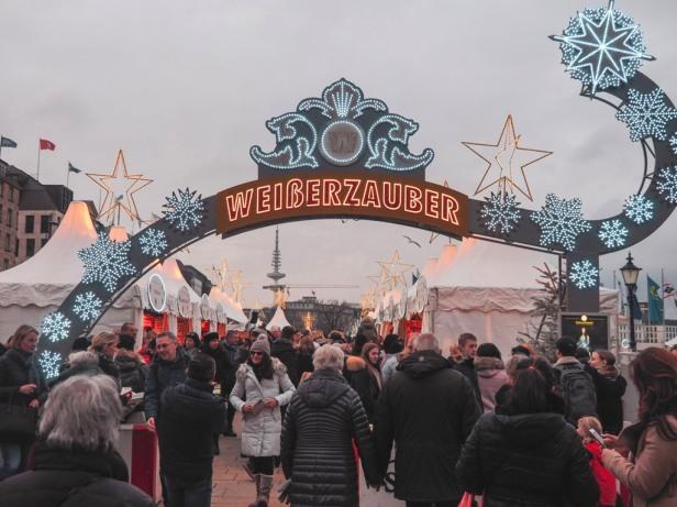 Hamburg Weißer Zauber