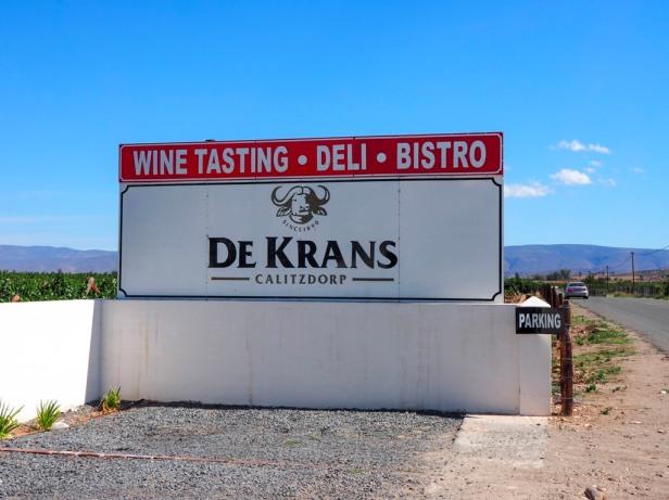 De Krans, Klein Karoo Wine Route