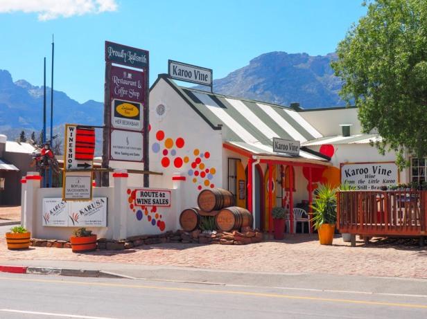 Karoo Vine, Klein Karoo wine route