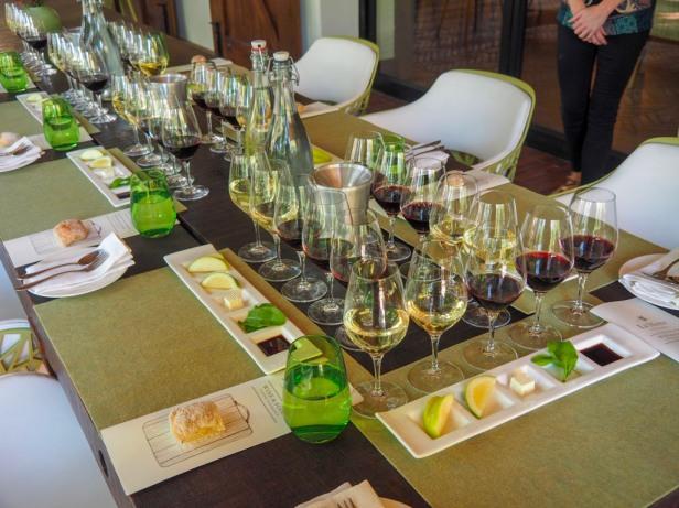 Wine sensation tasting