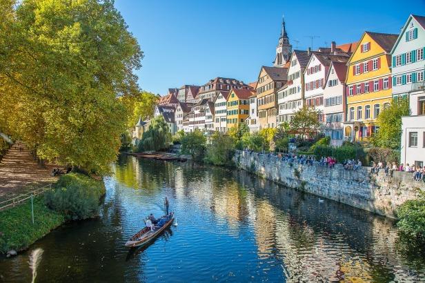 Tubingen old town