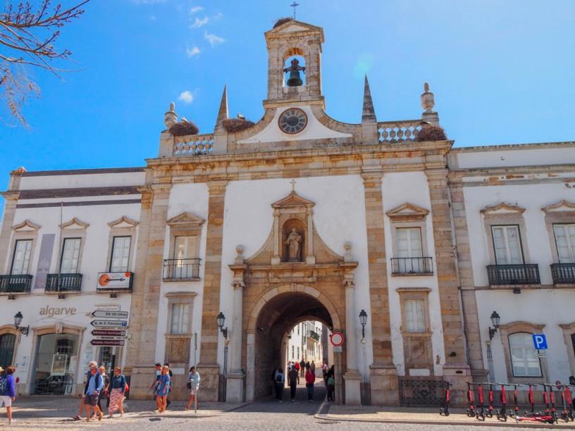 Arco da Vila, Faro, Algarve