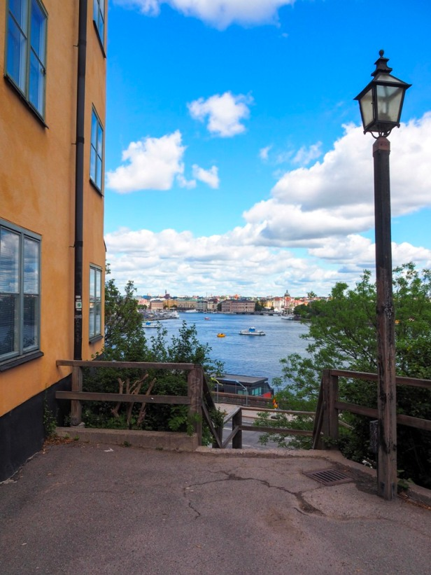 Stockholm, view from Södermalm