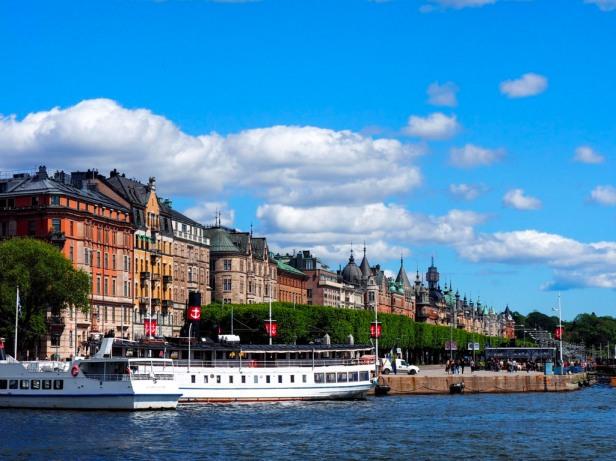 Strandvägen avenue, Stockholm