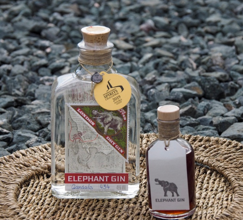 Elephant Craft Gin: Helping to protect elephants in Africa