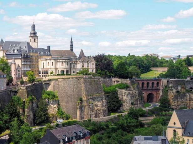 Bock Casemates , Luxembourg