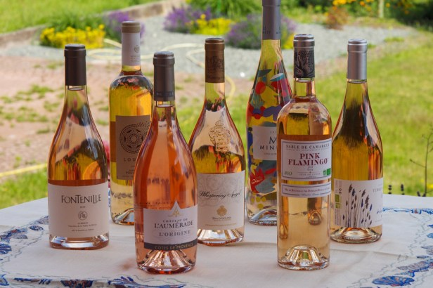 Provence rosé wines