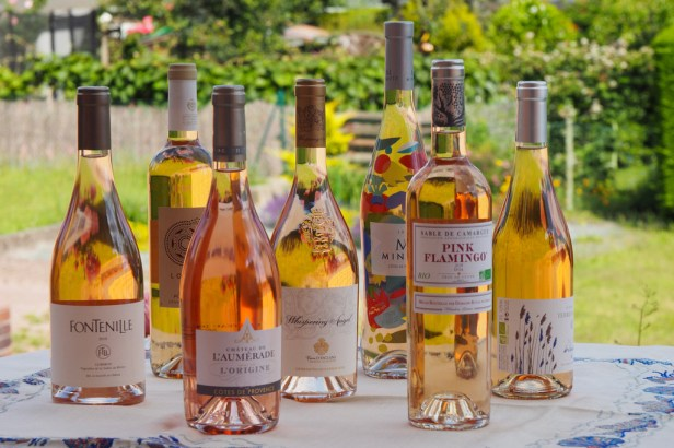 Provonce rosé wines