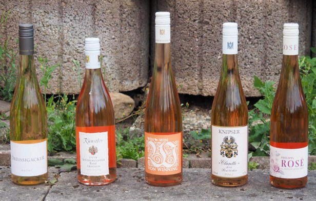 Rosé wines Germany