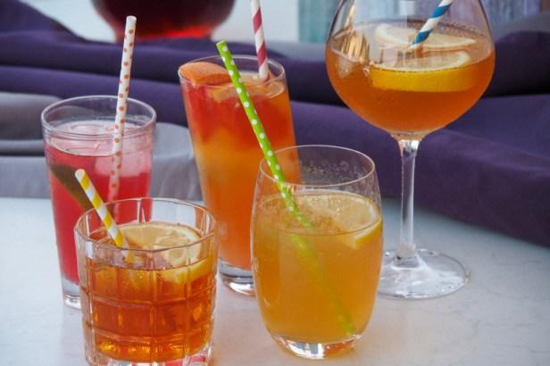 Iced tea cocktails