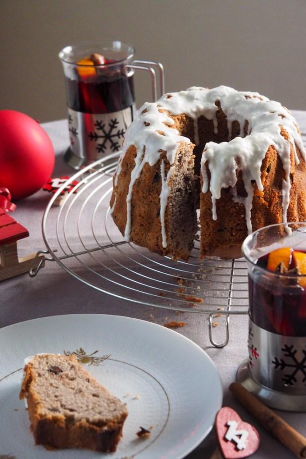 Festive baking: Mulled wine pound cake