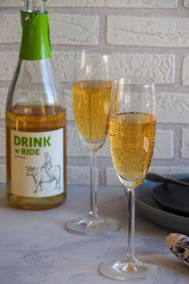A non-alcoholic German secco to try: Metzger Drink n'Ride