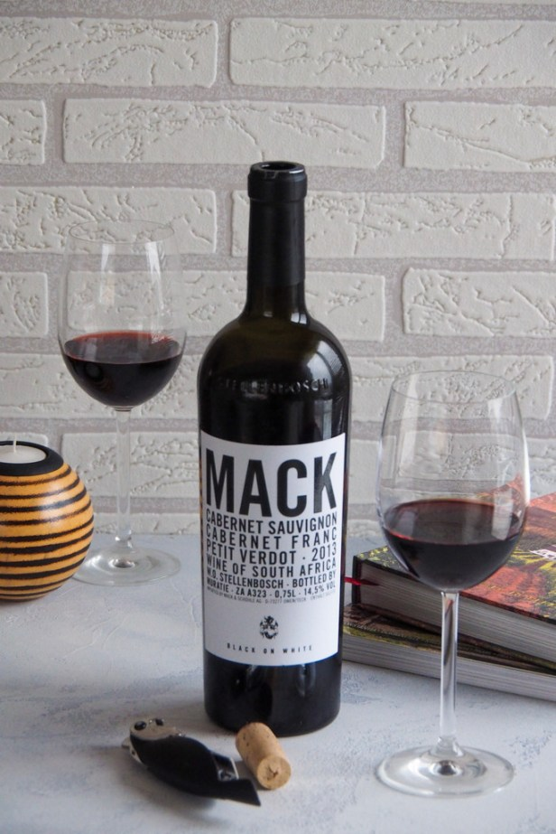A wine to try | Muratie Estate Cuvée Mack Black on White