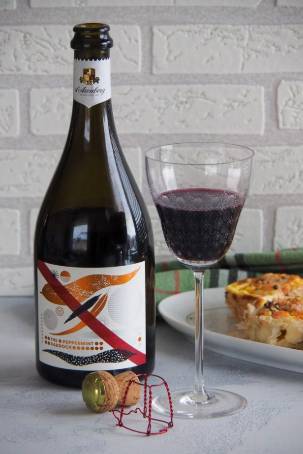 Peppermint Paddock, a sparkling red that will make you a convert drinking red bubblies