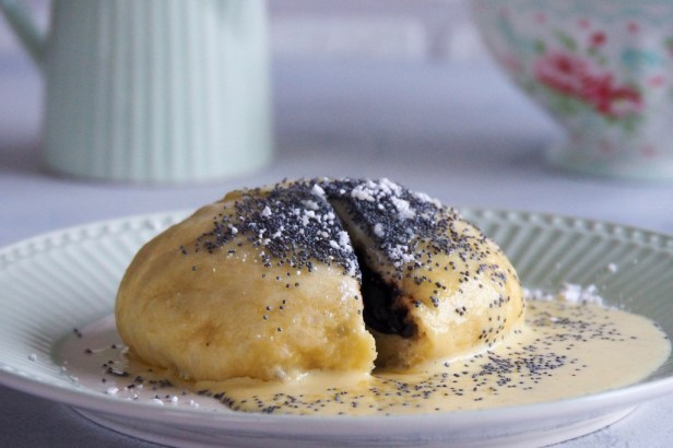 Traditional local food | Germknödel, the beloved Austrian yeast dumpling you will fall in love with