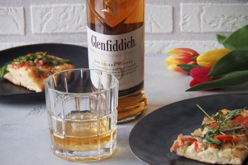 Glenfiddich single malt married with salmon pizza – can it work?