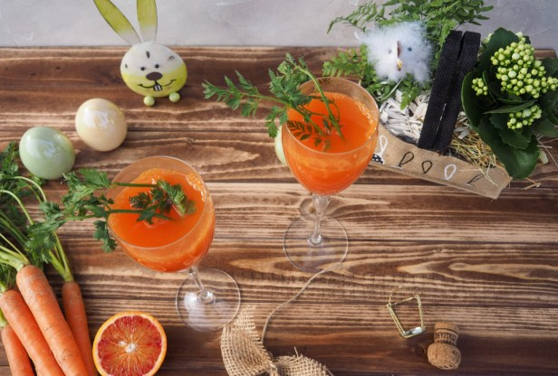 This Carrot Mimosa will be an instant hit on your Easter buffet
